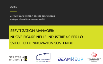 Corso Servitization Manager, nuove figure nelle industrie 4.0